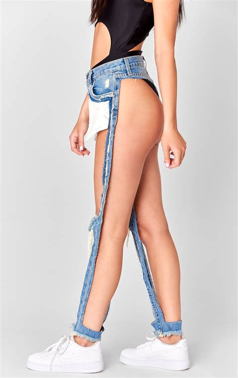 A Denim Brand Is Selling Their 'extreme Cut Out' Jeans For