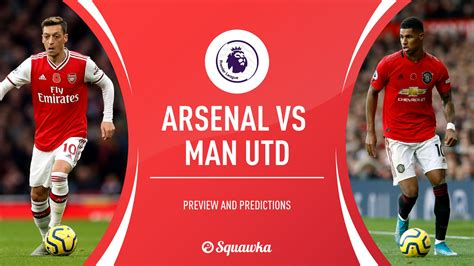 Nice to see utd are playing a very strong side with rashford starting. Arsenal v Man Utd prediction, preview & team news ...