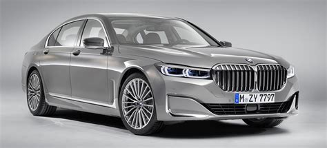 2019 Bmw 7 Series Changes by 2019 Bmw 7 Series Facelift Revealed