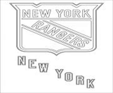 New York Rangers Colouring Pages Murderthestout