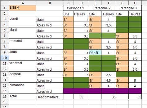 Modèle Lettre Modification Code Ape by Modele Planning 35h Ccmr