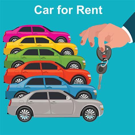 car lot illustrations royalty  vector