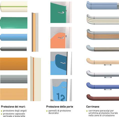 corrimano in plastica sicurezza gerflor paracolpi corrimano protezioni porte