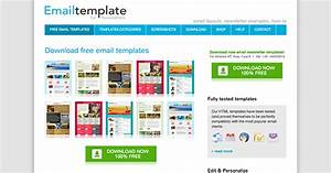 The best places to find free newsletter templates and how for Free online newsletter templates for email