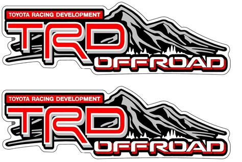 Product Pair Trd Offroad Vinyl Stickers Decals For Toyota. Drawn Banners. Globus Hystericus Signs. Blade And Soul Logo. Nursing Home Decals. Zone Signs. Job Search Banners. Cup Logo. Group Signs Of Stroke
