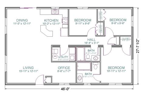 Awesome Ranch Style House Plans Without Garage  New Home