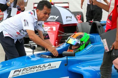 formula 4 isyraf danish malaysia s isyraf danish aiming for f4 crown