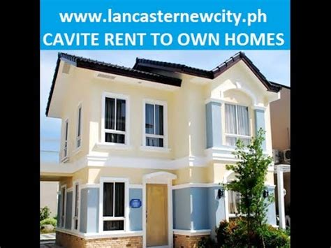 Lease To Own Houses - rent to own house and lot in cavite no payment