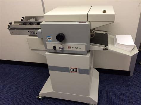 mb multipli  folding machine