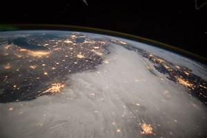 Great Lakes and Central U.S. From the International Space ...
