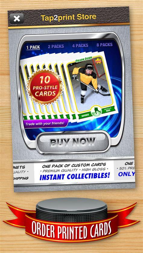 Hockey Card Maker  Make Your Own Custom Hockey Cards With