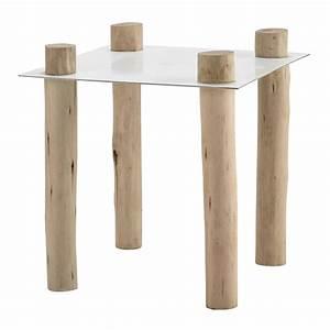 Beistelltisch Holz Weiß : beistelltisch komodo aus metall und holz b 45 cm wei maisons du monde ~ Indierocktalk.com Haus und Dekorationen