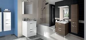 Meuble Tiroir Salle De Bain : meuble de salle de bain prefixe code tiroirs a poser aquarine ~ Teatrodelosmanantiales.com Idées de Décoration