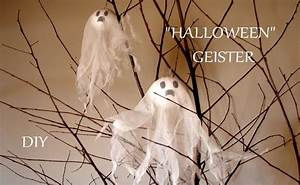 Halloween Deko Basteln : diy halloween geister halloween deko basteln mit ~ Articles-book.com Haus und Dekorationen