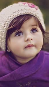 Cute-Baby-Girl-iPhone-Wallpaper - iPhone Wallpapers