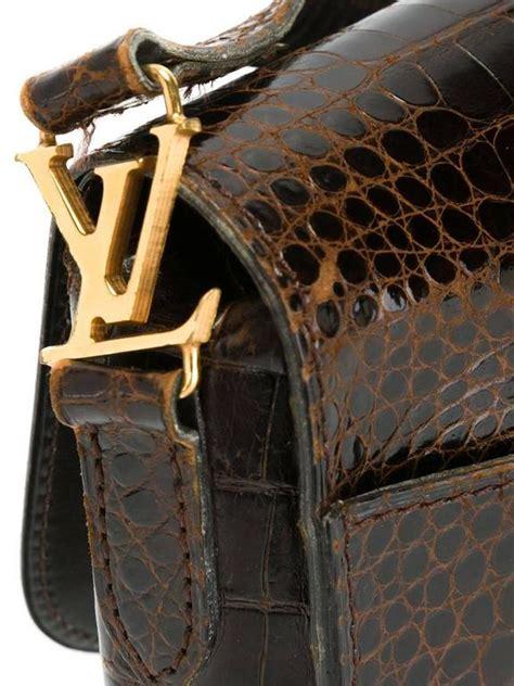 louis vuitton vintage crocodile st cloud bag  stdibs