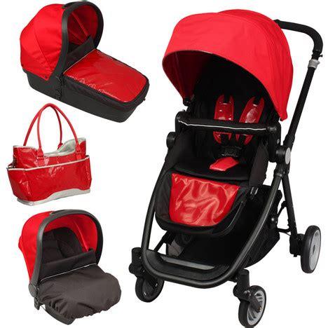 cosy siege auto poussette bébé 4 roues combiné 3 en 1 poussette siège