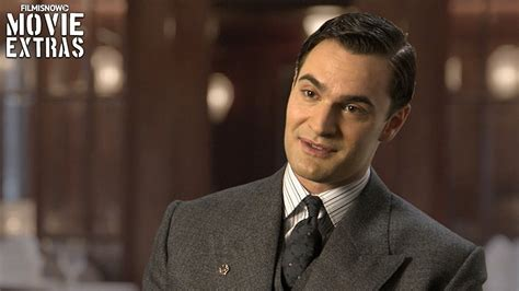 tom bateman reporter murder on the orient express on set visit with tom