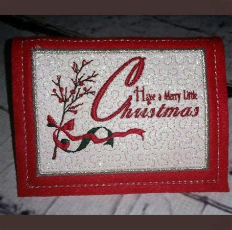 christmas cards designs set   machine embroidery patterns