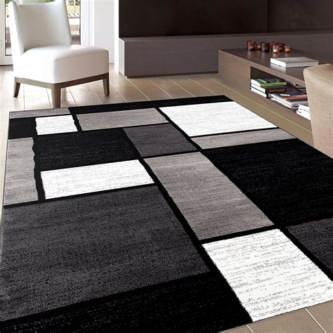 Black And White Area Rugs Best Rug Variety