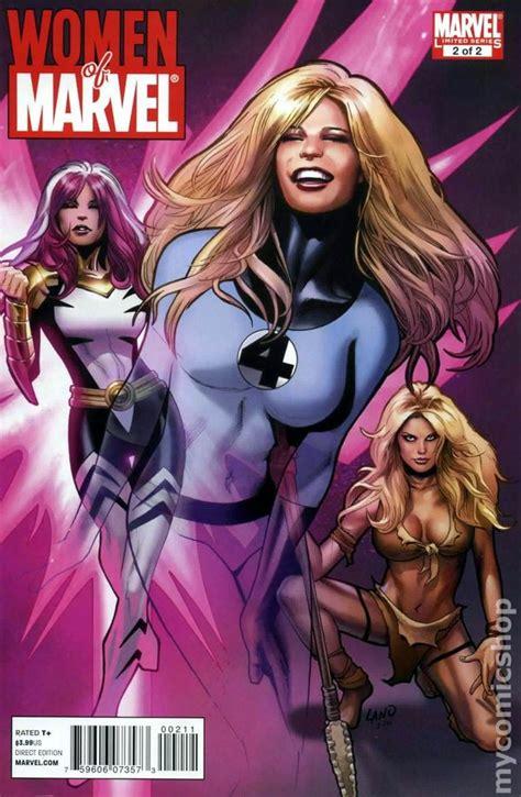 Marvel Comic Book Women