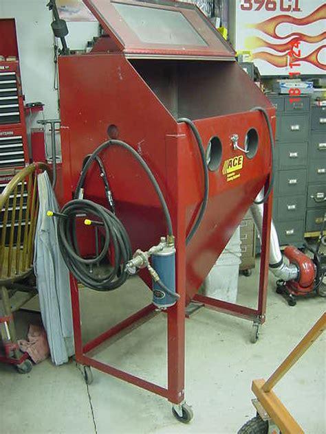 harbor freight blast cabinet vacuum adding vac to blast cabinet page 2