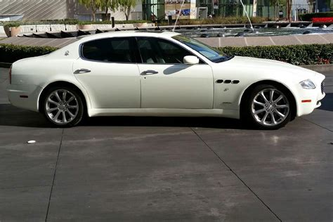 maserati 4 door 2007 maserati quattroporte 4 door sedan 200873
