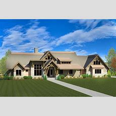 Mountain House Plan With Fabulous Finished Lower Level