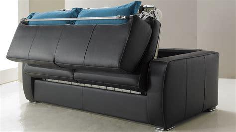 canapé lit 2 place canapé lit en cuir 2 places couchage 120 cm tarif usine