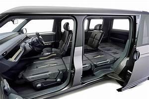 Toyota's 'Toolbox' ConceptSport Utility Minivan