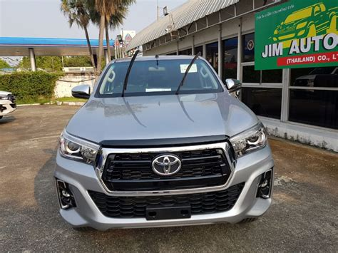 toyota hilux revo facelift double cab wd model