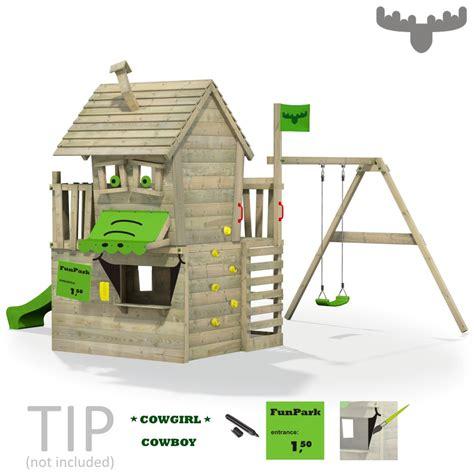 Fatmoose Countrycow Maxi Xxl Spielturm Kletterturm