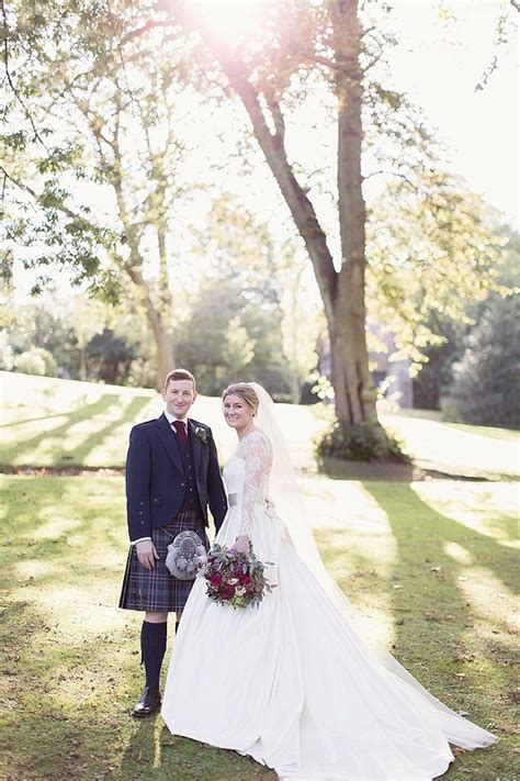 gorgeous fall scotland wedding modwedding