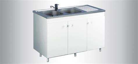 meuble cuisine 120x60 meuble de cuisine sous évier azur aquarine