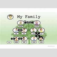 Pin By Islcollective On Esl Powerpoints Of The Day  Family Tree Poster, My Family, English Lessons