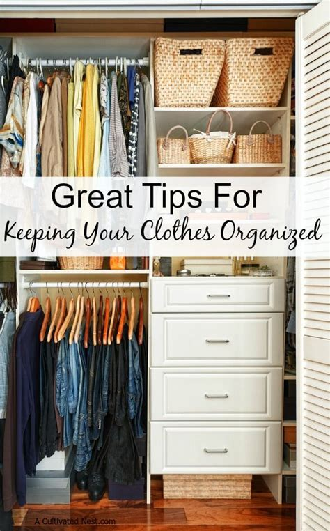 25 best ideas about clothing organization on