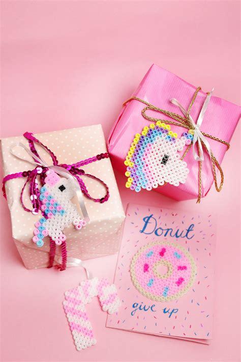 Geschenke Kreativ Verpacken Für Weihnachten Einhorn Ideen
