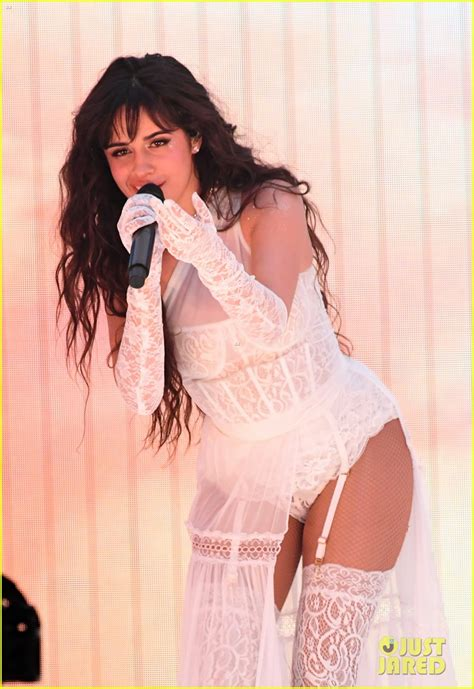 Camila Cabello Gives Sexy Performance Living Proof