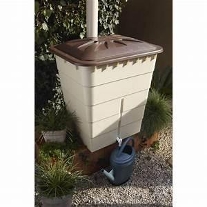 Bac Récupérateur D Eau De Pluie : r cup rateur d 39 eau a rien garantia rectangulaire sable ~ Premium-room.com Idées de Décoration