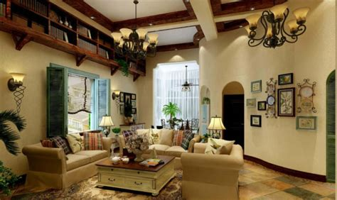 Tips For Living Room In Mediterranean Style