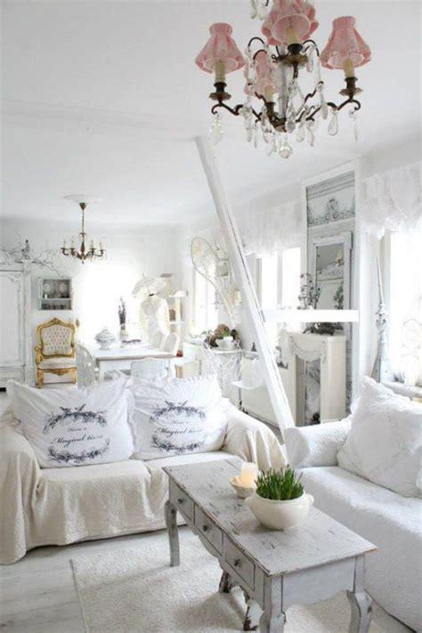 deko ideen selbermachen wohnzimmer wohnzimmer im shabby chic stil noch mehr ideen auf www gofeminin de wohnen shabby chic selber