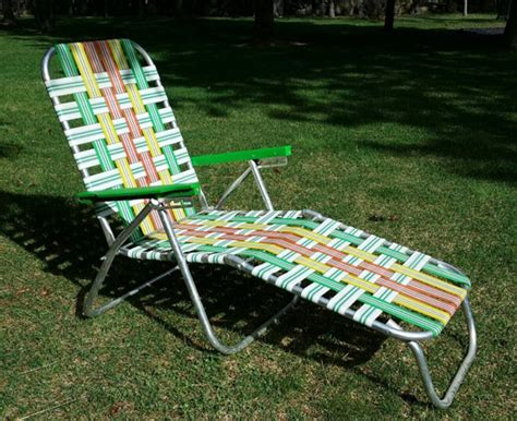 chaises aluminium webbed aluminum chaise lounge chair