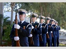 Coast Guard Family Month The Honor Guard's creed; a