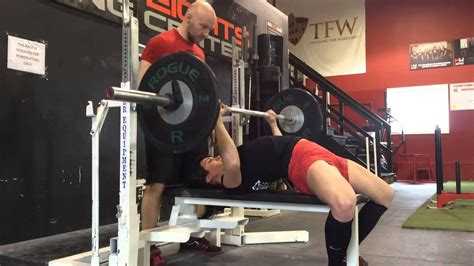 Powerlifting Bench Press Form Youtube