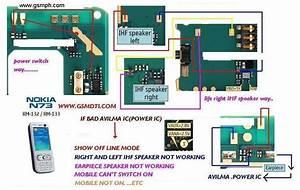 Nokia N73 Ihf Speaker Problem Picture Help