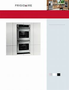 Frigidaire Double Oven Ffet2725l User Guide