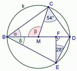 Winkel Berechnen übungen 7 Klasse : berechnungen am thaleskreis mathematik realschule klasse 7 anwendung ~ Themetempest.com Abrechnung