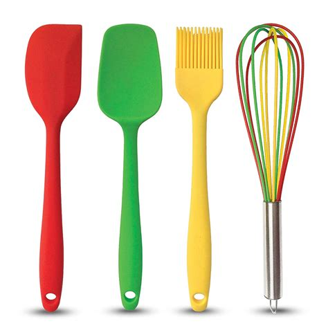 colored kitchen utensils brightly colored silicone kitchen tools 2 75 ea at 2332