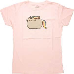 cat unicorn shirt pusheen the cat unicorn juniors t shirt