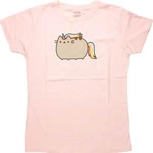 pusheen the cat shirt pusheen the cat unicorn juniors t shirt